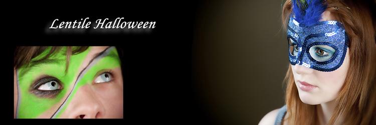 Lentile de contact halloween