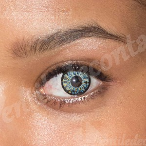 lentile de contact colorate illusion blue