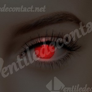 lentile de contact rosii uv blind screen
