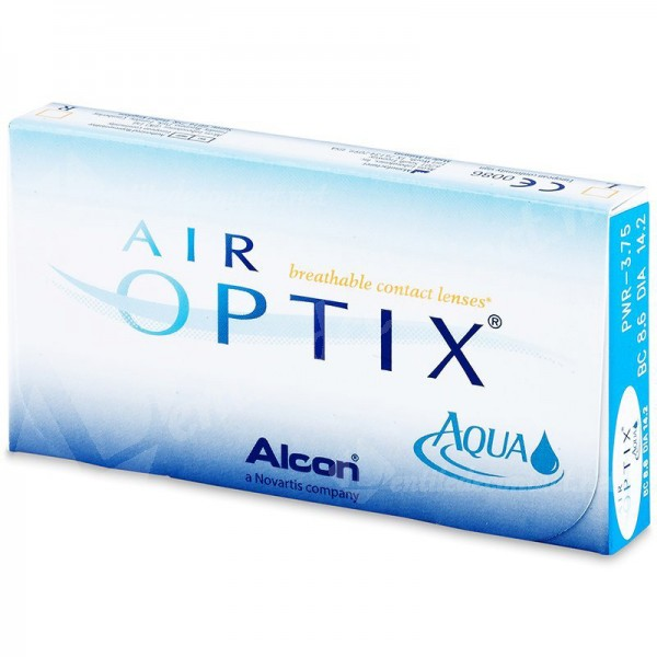 lentile de contact air optix aqua 6 buc