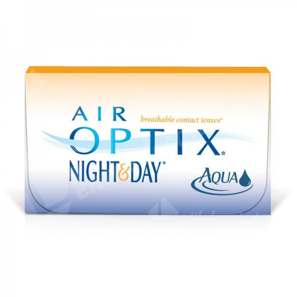 lentile de contact air optix aqua night and day 6 buc