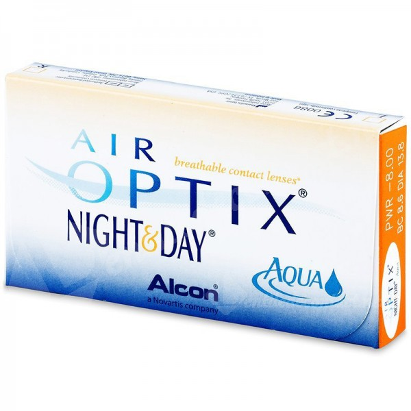 lentile de contact air optix aqua night and day 3 buc