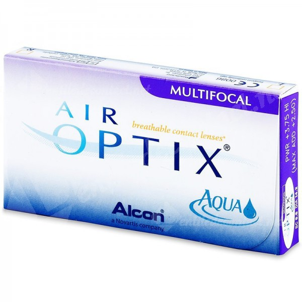 lentile de contact air optix aqua multifocal 3 buc