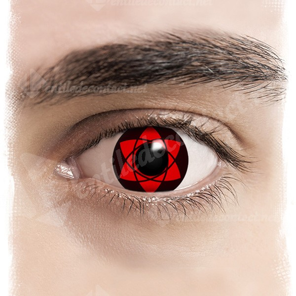 lentile de contact mangekyo sharingan